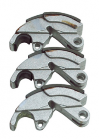 Padding sets of 3 brake shoes for motorcycle, quad,...