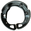 Padding sets of 3 brake shoes for cars.