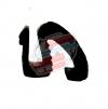 Vertical licking profile. Renault R4 4L. (Linear meter)